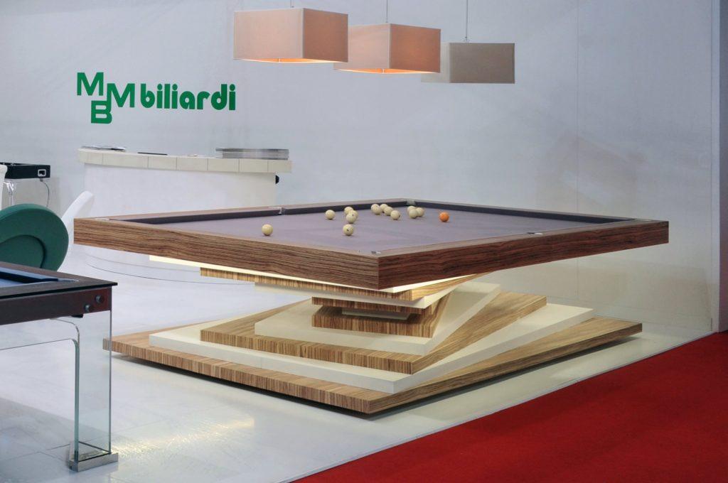 biliardo tavolo di lusso ziggurat