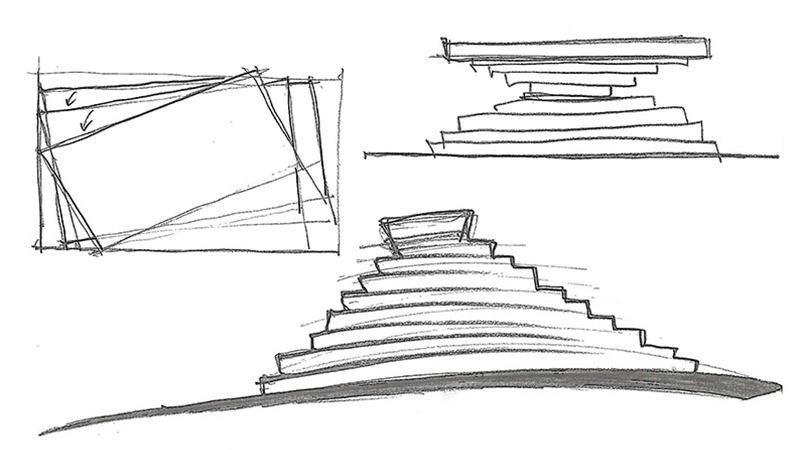 biliardo ziggurat disegno tecnico
