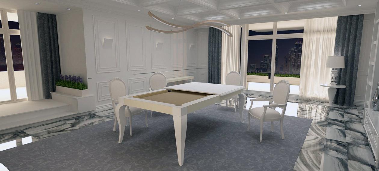 biliardo tavolo nuovo dubai