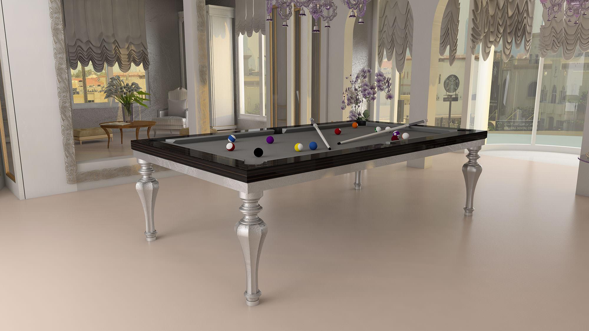 biliardo trasformabile in tavolo da pranzo praga