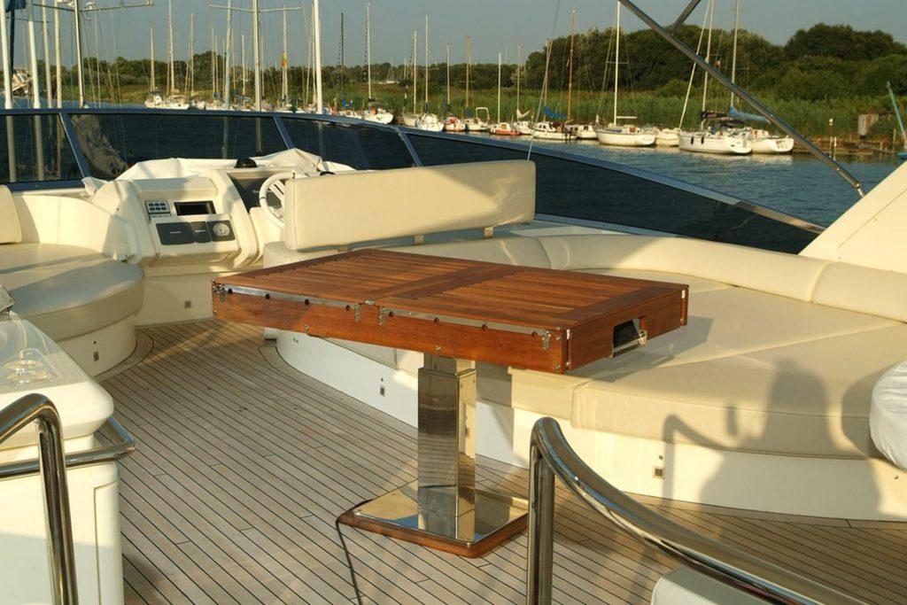 calcio balilla billboat yacht