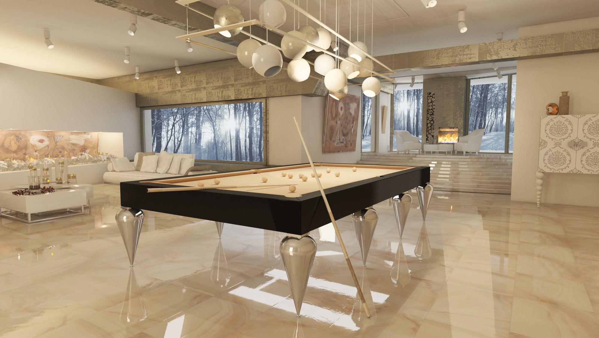 tavolo da biliardo trasformabile cabochon pro