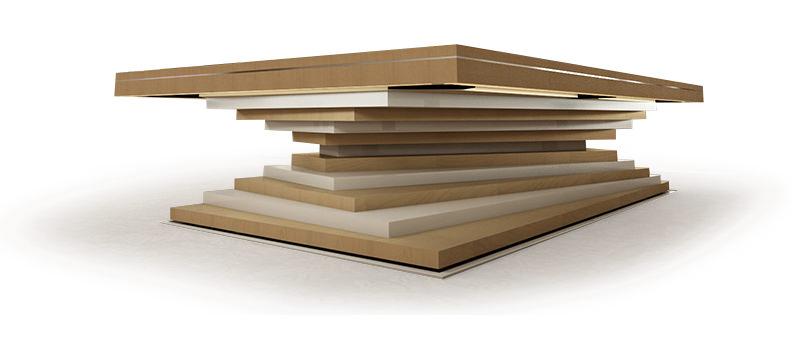 mbm biliardo tavolo ziggurat