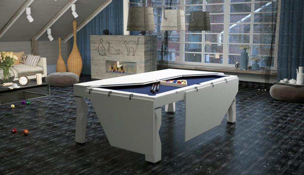 biliardo trasformabile in tavolo da casa shanghai