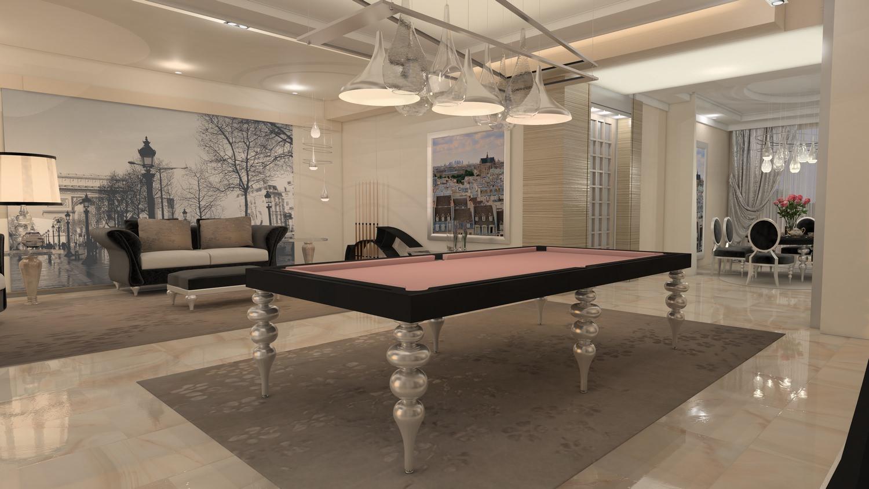 biliardo tavolo da pranzo-trasformabile parigi
