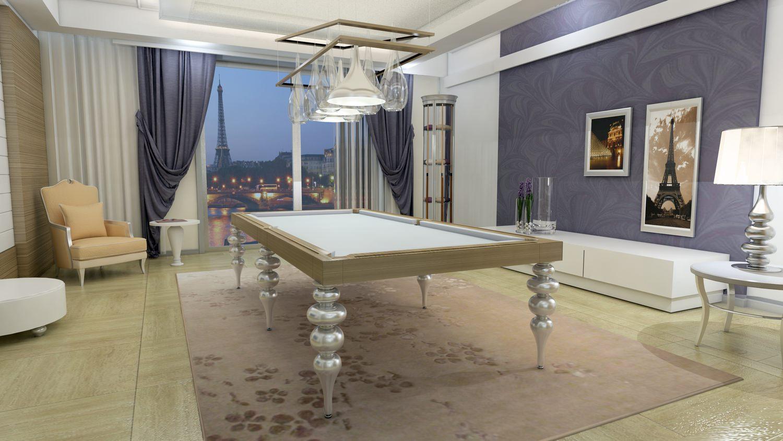 biliardo tavolo di lusso parigi