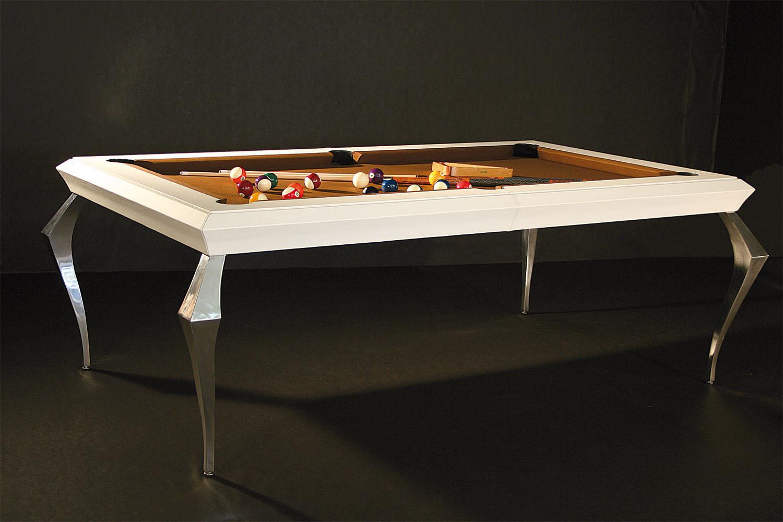 biliardo diamond trasformabile in tavolo