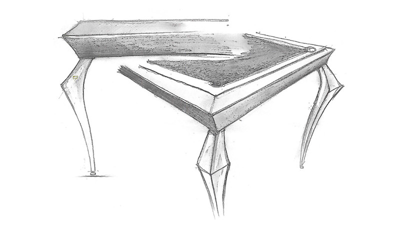 biliardo diamond disegno tecnico