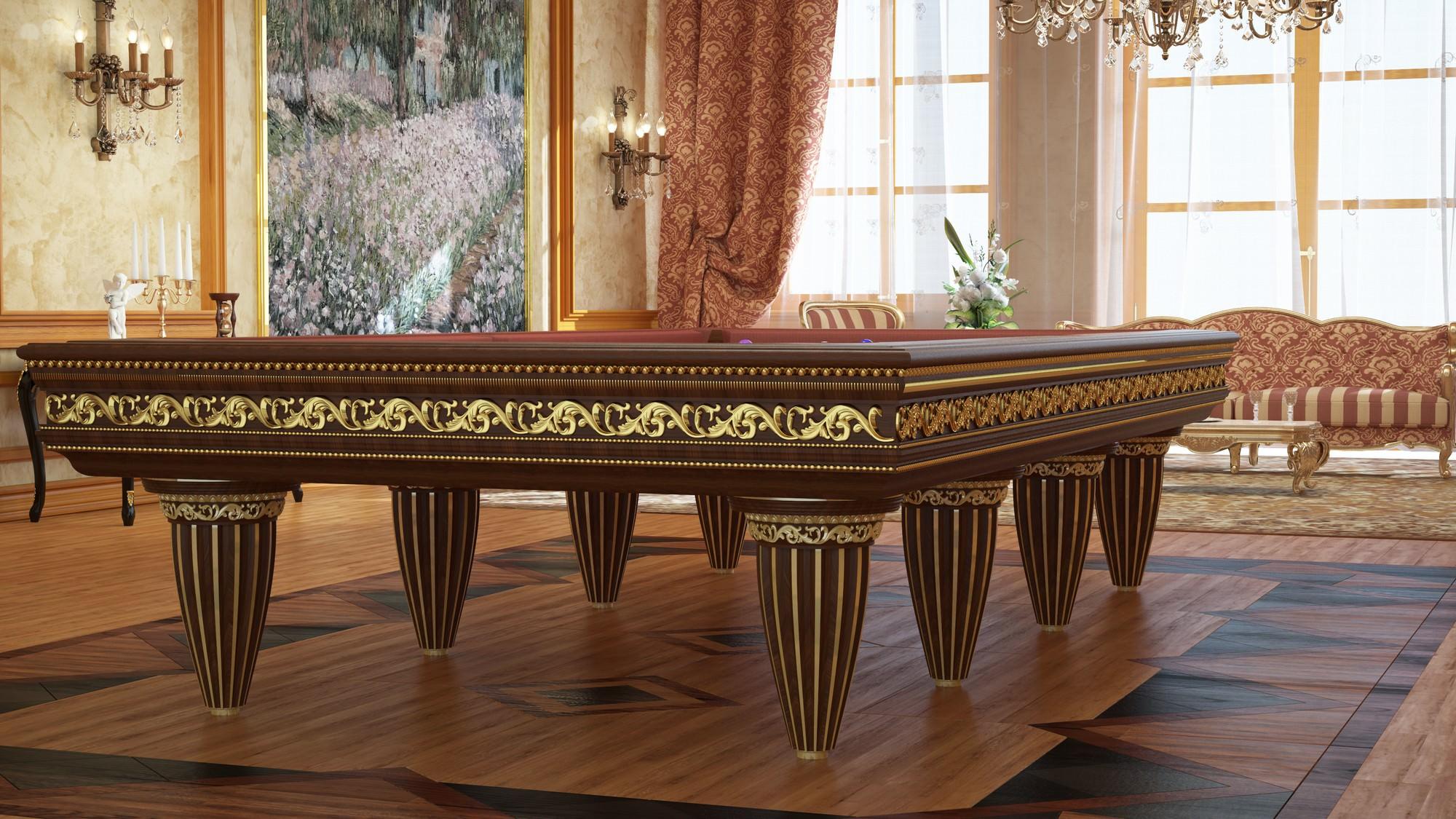tavolo da biliardo classico di lusso m31