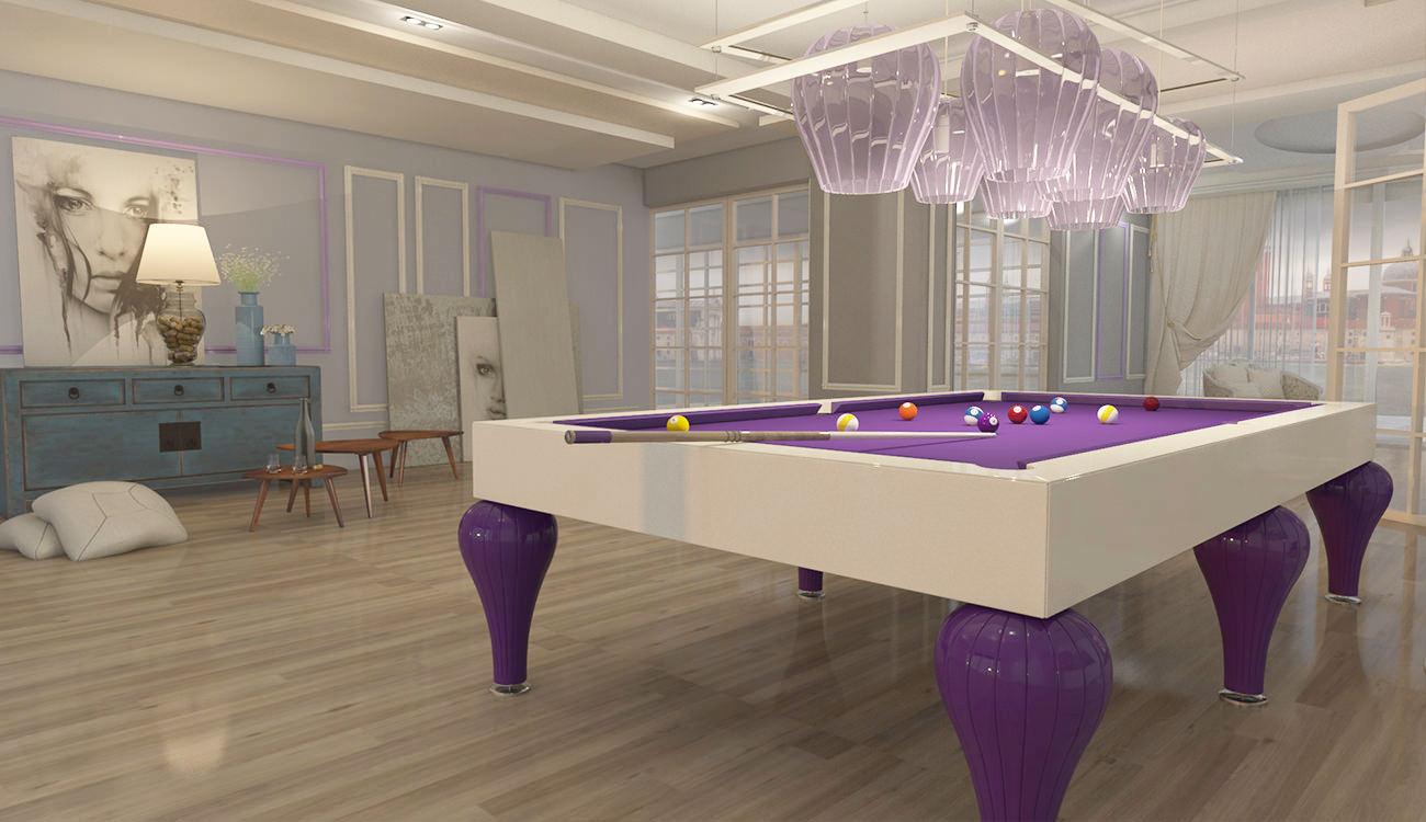 tavolo da biliardo luxury tintoretto pro
