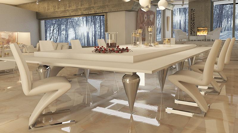 tavolo da biliardo professiona trasformabile di lusso cabochon pro