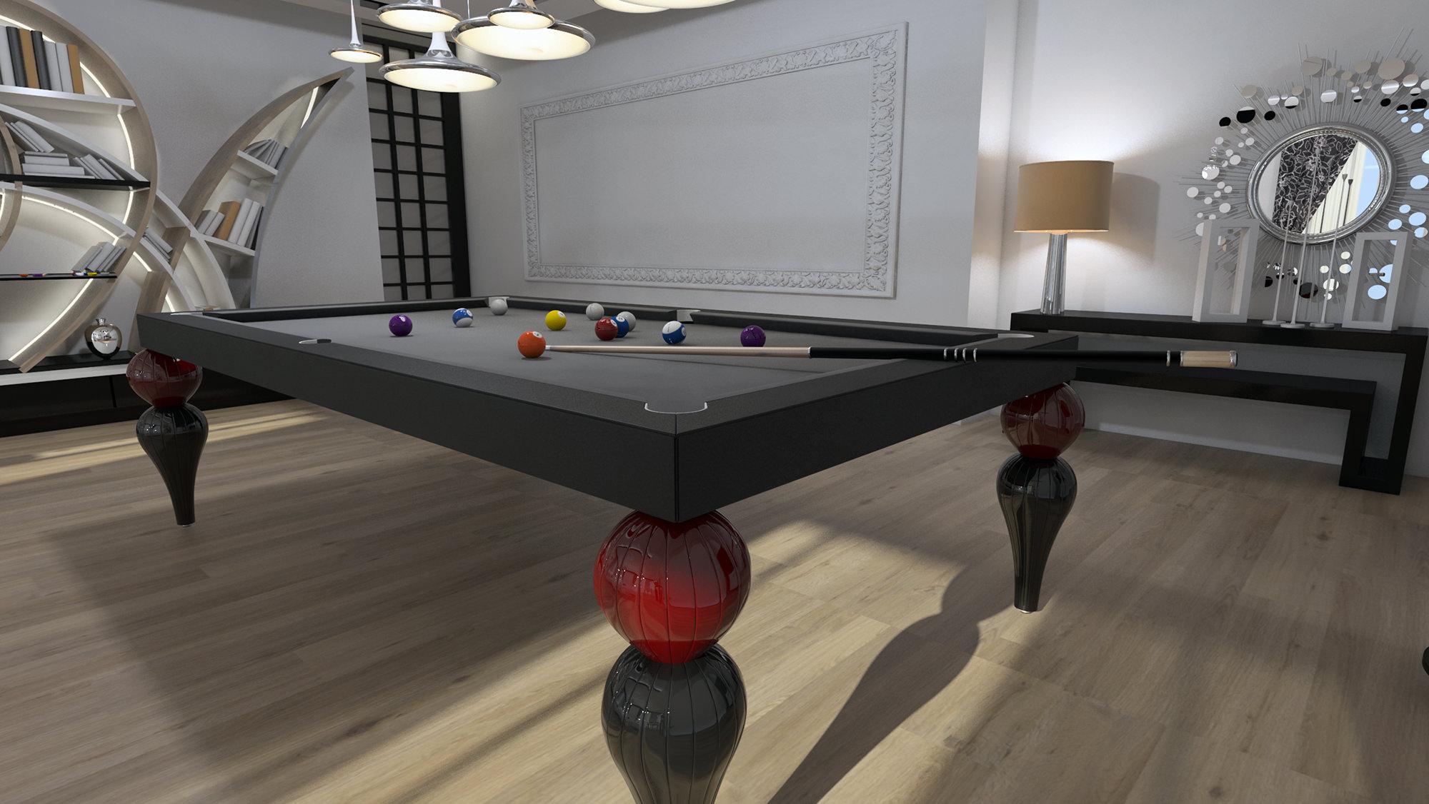 tavolo da biliardo trasformabile per casa cardinale